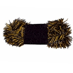 "Mizzou Black & Gold 18"" Garland"
