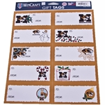 Mizzou Assorted X-Mas Gift Tag Stickers