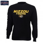 Mizzou Tigers SEC Black Crew Neck Sweatshirt