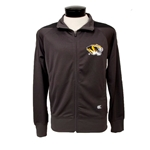 Mizzou Tigerhead Charcoal Zip Up Jacket