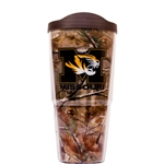 Mizzou Tiger Head Real Tree Camouflage Tumbler