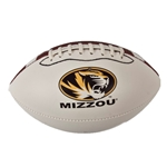 Mizzou Oval Tiger Head Mini Football