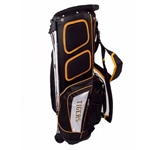 Missouri Tigers Gridiron II Black & Gold Golf Bag