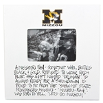 Mizzou Fan 4x6 Photo Frame