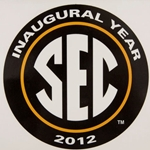 Mizzou SEC Inaugural Year Decal