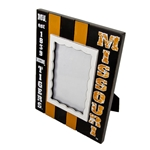 Missouri Tigers Black and Gold Striped Photo Frame