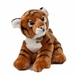 "14"" Standing Stuffed Tiger"