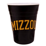 Mizzou Tigers Black Party Cup