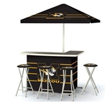 Mizzou Tiger Head Deluxe Tailgate Set
