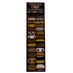 Mizzou Trendy Teams Assorted Fingernail Decals