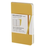 Moleskine Volant Orange/Yellow Large Plain Notebook (Set of 2) (5 x 8.25)