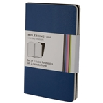 Moleskine Volant Blue/ Navy Large Ruled Notebook (Set of 2) (5 x 8.25)