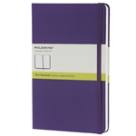 Moleskine Volant Pocket Purple/Lavender Plain Notebook (Set of 2) (3.5 x 5.5)