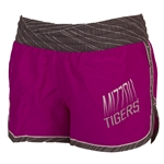 Mizzou Juniors' Purple with Grey Trim Athletic Shorts