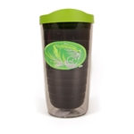 Mizzou Oval Tiger Head Green Tumbler