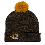 Mizzou Truman Black and Gold Beanie