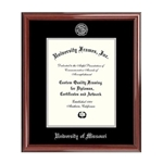 University of Missouri Official Seal Petite Mahogany Diploma Frame