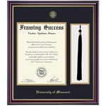 University of Missouri Official Seal Tassel Place Windsor Diploma Frame