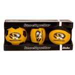 Missouri Oval Tiger Head Rubber Ball Set
