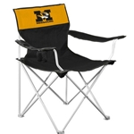 Mizzou Block M Tiger Head Bagged Black Tailgate Chair