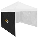 Mizzou Tiger Head Black Tent Side Panel