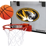 Mizzou Rawlings Oval Tiger Head Hoop Set