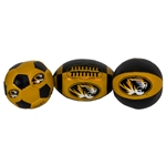 Mizzou Soft Touch 3 Pack Ball Set