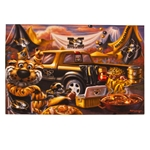 Mizzou Tailgate Disposable Placemats