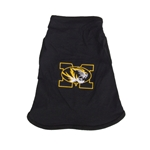 Mizzou Tiger Head Black Dog Tank Top