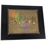 Mizzou Holographic Evolution of the Tiger Plaque