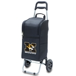 Mizzou Black Block M Tiger Head Cart Cooler