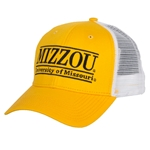 Mizzou Gold & White Trucker Hat