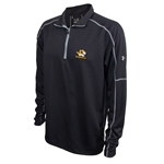 Mizzou Under Armour Tiger Head Black Turtle Neck 1/4 Zip Sweatshirt