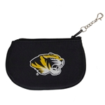 Mizzou Tiger Head Black ID Holder