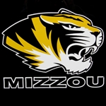 Mizzou Tiger Head Decal