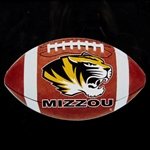 Mizzou Tiger Head Football Decal