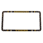 Missouri Tigers Black & Gold License Plate Frame