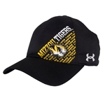 Mizzou Tigers Under Armour Black Stretch-Fit Hat