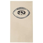 Missouri Oval Tiger Head Football Recycled Dinner Napkins