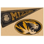 Mizzou Oval Tiger Head Disposable Placemats
