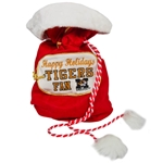Mizzou Tigers Fan Red Santa Bag