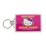 Mizzou Hello Kitty Pink Keychain