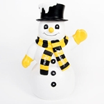 Missouri Tigers White Snowman Figurine