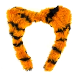 Mizzou Plush Orange & Black Tiger Ears