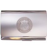 Mizzou Official Seal Aristocrat Silver Business Card Holder