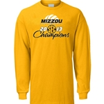 Mizzou Volleyball 2013 SEC Champions Long Sleeve Shirt
