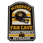 Missouri Fan Cave Wooden Sign