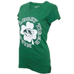 Mizzou Junior's Four Leaf Clover Green Short Sleeve Crew T-Shirt