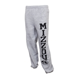 Mizzou Tiger Head Grey Closed Bottom Sweatpants