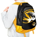 Mizzou Tiger Head Backpack